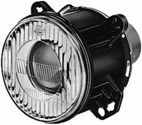 HELLA 1BL 006 349-007 DE/Halogène-Optique, projecteur principal - 12V - rond - Montage encastré - gauche/droite