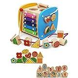 Tagke Infant e Giocattoli per Bambini 6-12 Mesi Puzzle Blocks Can Bite 1-2-3 Anni Baby Boy Forma Femminile di accoppiamento (Color : A)