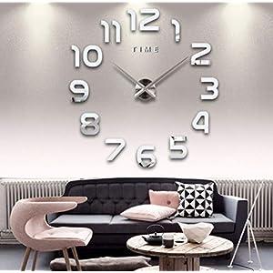 Yetaha Números Romanos Fashion Able Reloj de Pared Pared ...