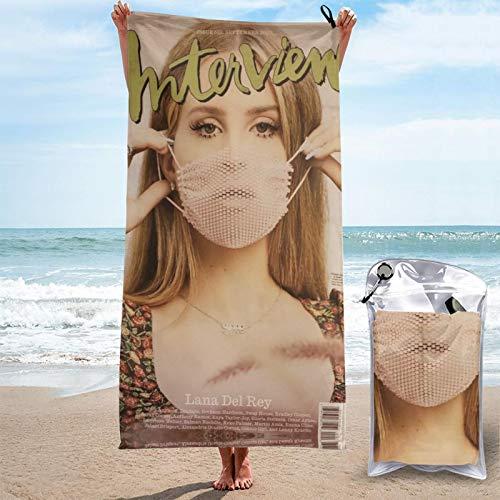 West Coast álbumes la-na del re-y popular joven y hermosa toalla de playa toalla de viaje grande encozy unisex baño gimnasio 2021.0