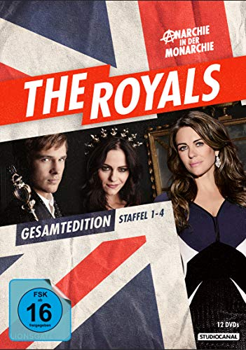 The Royals - Gesamtedition Staffel 1-4 [12 DVDs]