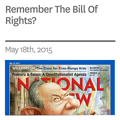 Remember The Bill Of Rights? audiobook cover art