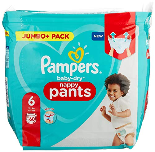 Pampers 81714245 Baby-Dry Pants windelhose, weiß