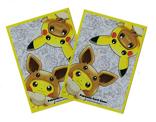 Fan of Pikachu & Eevee (Pancho) - Official Cards Sleeves - Tournament Legal - Japan Import image