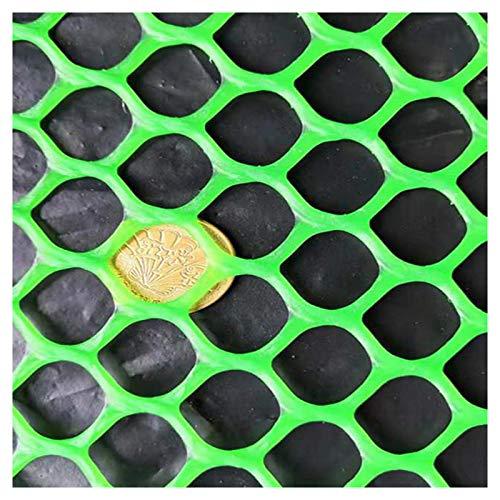 LinLiQiao Balcón Jardín Malla Ventana Terraza Malla Malla Evita Que Las Garzas Sean Resistentes Y Duraderas, Color: Verde, Tamaño: 1,5 M * 9 M.(Size:1.2CM Aperture)