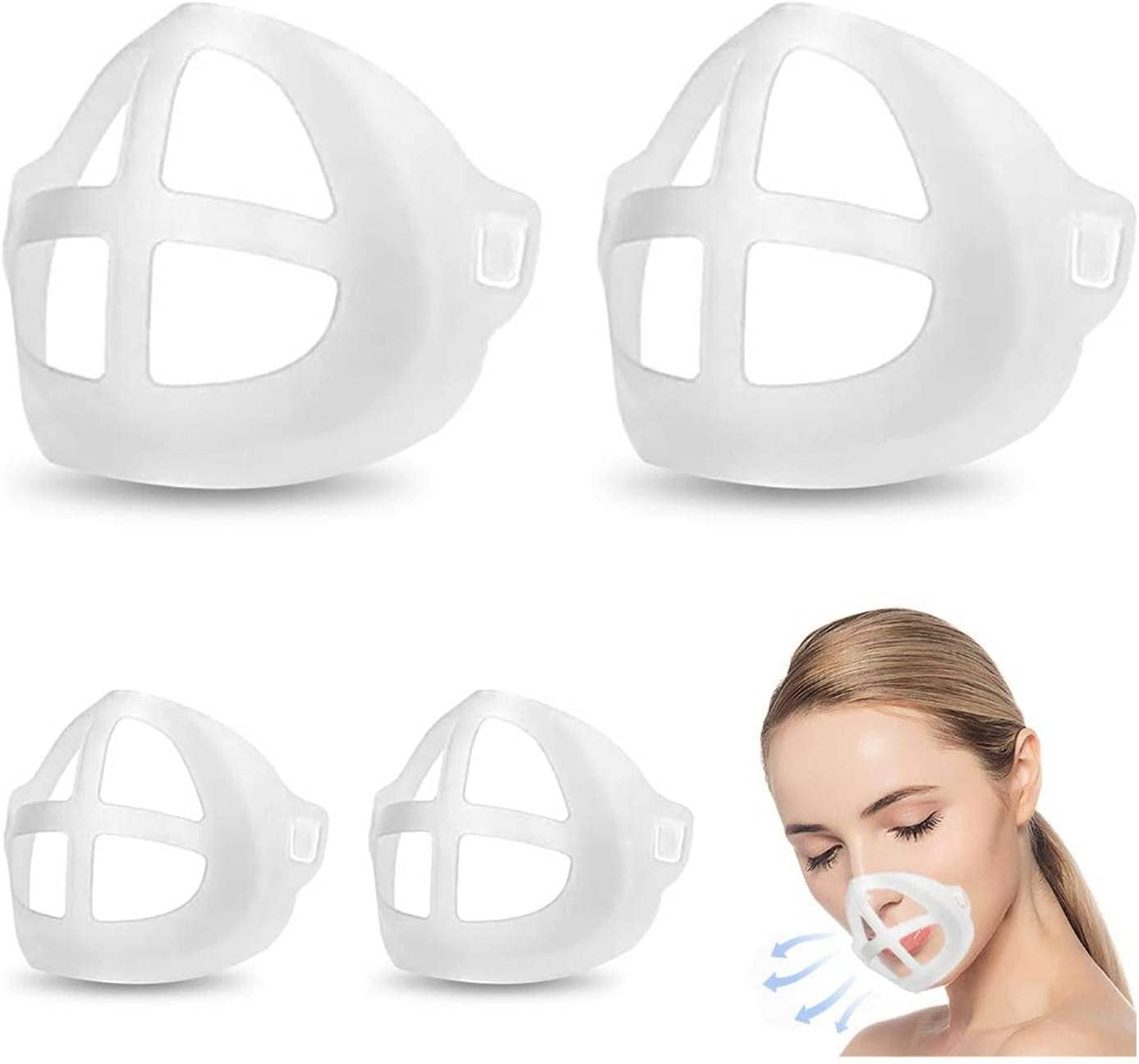 3D Face Inner Support Silicone Internal Max 89% OFF Free Shipping New Frame Reusable