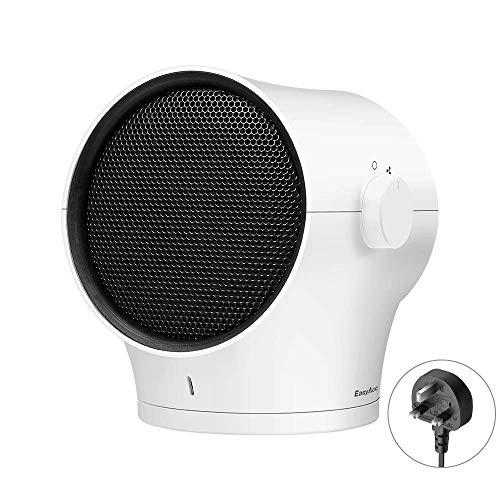 Ventilador Ventilador collar 2020 Ventilador de mano 3350mAh batería recargable ajustable 100 ° Built-in USB luz de la noche del ventilador 3 velocidades del ventilador 3-17 Horas Personal ventilador