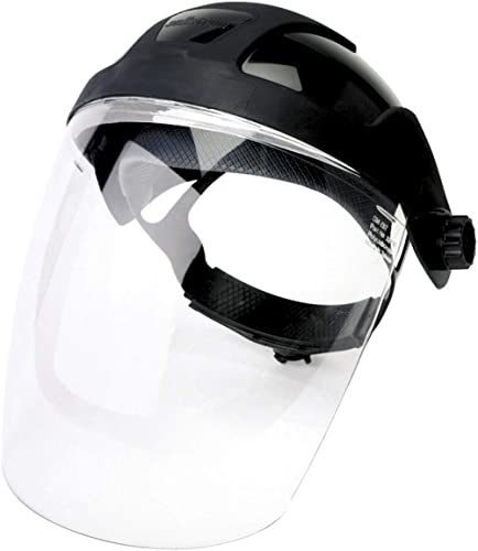 Protection Mask Clear Visor Glasses Screen For Spraying Routing Wood Turning