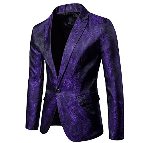 Purple Sports Coat