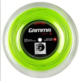 Gamma Tennissaite Moto Lime 17 (1.24 mm) 200 m Rolle, GZMOR