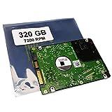 Compatibile con HP dv2010 dv7-4140 dv2505 dv2904 dv7-1134us dv7-2040 | 320GB HDD disco rigido 2,5' (7200RPM) 16MB Cache per