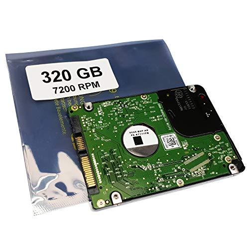 320GB HDD 7200RPM Disco Duro Compatible para Toshiba Satellite L50-B-24U L50-B-24V L50-B-24W L50-B-24X57 | componente Alternativo