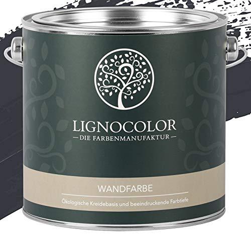 Lignocolor Wandfarbe Innenfarbe Deckenfarbe Kreidefarbe edelmatt 2,5 L (Brooklyn)