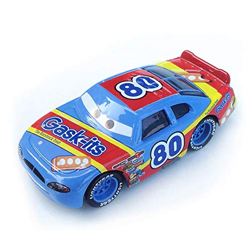 Pixar Cars 2 Cars 3 No.95 Lightning McQueen Mater Jackson Storm Ramirez Vehicle Metal Alloy Boy Kid Toys (Color : No.80)