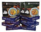 Schnupperpaket 11+1 gratis - verschiedene Fertiggerichte für die Mikrowelle - keine Versandkosten - Südwind Lebensmittel