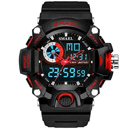 YYKJ Reloj Deportivo Digital Multifuncional para Exteriores para Hombres Y Mujeres, Reloj Impermeable para Hombres De 50 M con Formato De 12/24 Horas 6