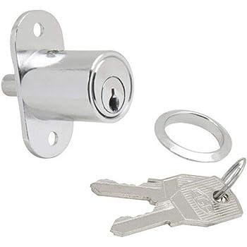 Sourcingmap - Cerradura de émbolo para cajones (1,9 cm, diámetro ...