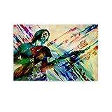 Thom Yorke Radiohead Leinwand-Kunst-Poster und