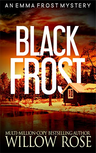 """alt=""""From Multi-Million-Copy Bestselling author Willow Rose comes the next chapter in the #1 Bestselling Emma Frost Mystery Series. Emma Frost is tied up in a murder mystery that seems out of this world.  When a young girl disappears one night from the park, then turns up again the next morning in a different place on the island, people start to talk about her.  Was she drunk and just doesn't remember what happened?  Did she go home with a guy and won't admit it?  What happened to her, and why is she insisting that she doesn't know?  Emma Frost is fighting for Victor's best friend, Skye.  Emma is trying to get her back from the people who took her in the night, but having no luck when a guy falls into her arms in the street and dies a few minutes later.  The autopsy shows he has frozen to death, but it doesn't seem possible. When a young boy from Victor's school turns up frozen as well, and things start to get cold around her own house, Emma begins to fear for her loved ones' lives.  Once again, Willow Rose has written a story so compelling that it leaves the reader in almost unbearable suspense until the surprise ending is revealed.  Buy BLACK FROST today to indulge in an engulfing mystery dripping with suspense!"""""""