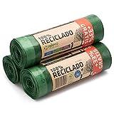 Relevo Sacchi Spazzatura 100% riciclati, 30 Litri, 60 unitã