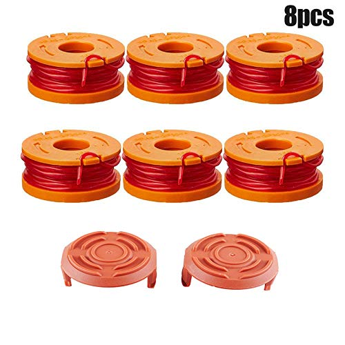 Review Of RollingBronze Grass Rope, Grass Trimmer, Spool,Edger Spools WA6531 GT Spool Caps Kit Grass...