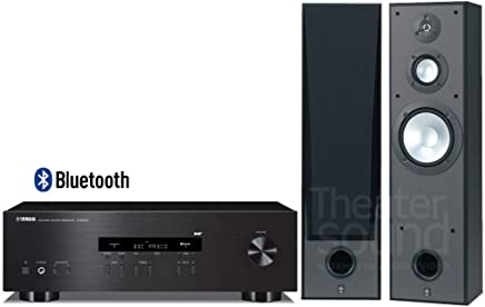 YAMAHA R-S202 (100 W x 2 High Output Power) Stereo Receiver with NS-8390 Bass-ReflexFloor-Standing Speaker