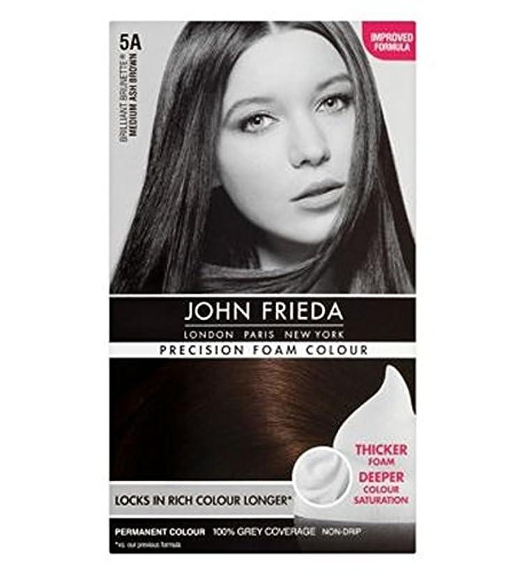 泥沼つぶやき誘発するJohn Frieda Precision Foam Colour 5A Medium Ash Brown - ジョン?フリーダ精密泡カラー5Aのミディアムアッシュブラウン (John Frieda) [並行輸入品]