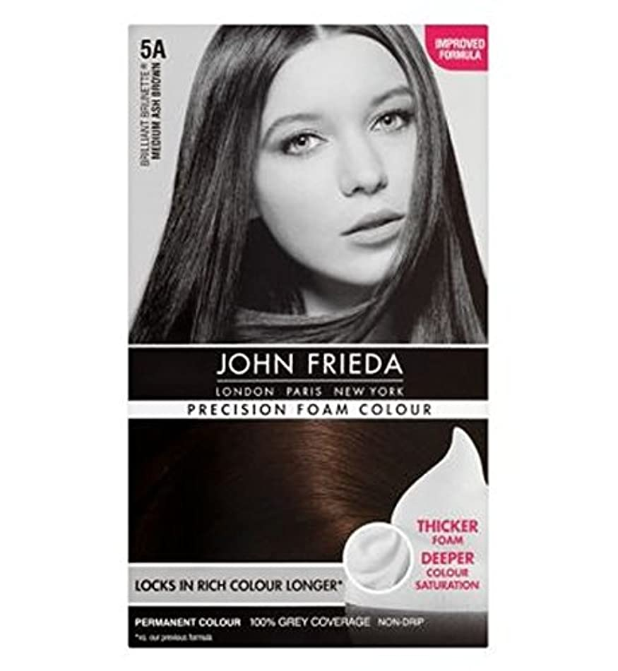 ばかげている幅ブレーキジョン?フリーダ精密泡カラー5Aのミディアムアッシュブラウン (John Frieda) (x2) - John Frieda Precision Foam Colour 5A Medium Ash Brown (Pack of 2) [並行輸入品]