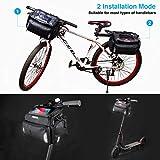 Zoom IMG-2 teuen borsa manubrio bici mtb