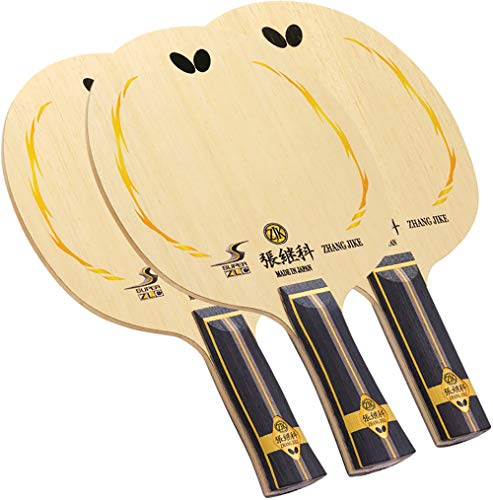 Butterfly Zhang Jike Super ZLC Blade Table Tennis Blade - ZL Carbon Fiber Blade Zhang Jike Super ZLC Blade - an, FL, and ST Handle Type - Made in Japan