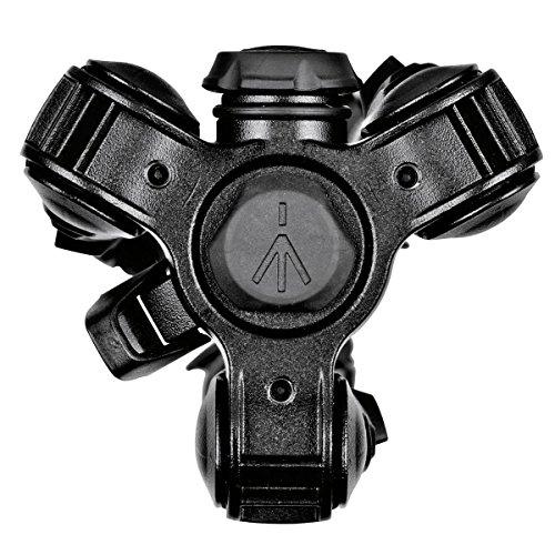 Manfrotto Befree MKBFRTA4BK-BH - Trípode avanzado de Viaje Befree, Bloqueo de Giro con Cabezal de Bola para Canon, Nikon, Sony, DSLR, CSC, sin Espejo, Aluminio Ligero, Color Negro