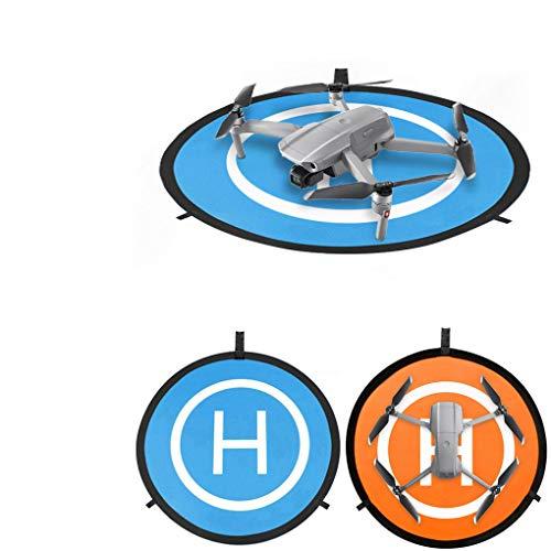 Vkarh Drone Landing Pad - Waterproof UAV Landing Mat 55cm 21.6in Fast-fold Double Sided Quadcopter Landing Pad - for DJI Series, Phantom 2 3 4 4 Pro, Inspire 1 2, Fimi X8 SE, FIMI A3, YUNEEC Mantis Q