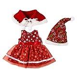 YUIO® 50cm vêtements de poupée de Noël 18 pouces vêtements de fille américaine American Girl Xiafu vêtements de poupée peuvent être personnalisés (rouge (Q-205))