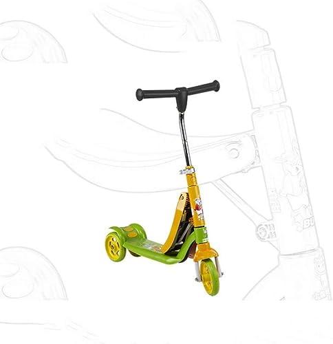 XHLJ Roller, Dreiradschaukel, Schaukel, 3-16 Jahre Alter Baby-Doppelpedalroller, (Farbe   B)