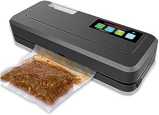 SMSOM Scellant à Vide, Machine à sceller automatiquement Automatique à Une Touche pour épargnants Alimentaires et sous Vid...