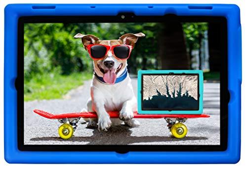BobjGear Bobj Rugged Tablet Case for (25.7) Lenovo 10e Chromebook Tablet Kid Friendly (Batfish Blue)