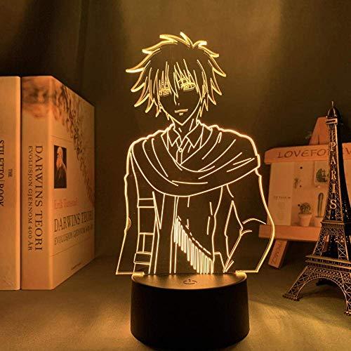 Lámpara de noche 3D de anime, ilusión, lámpara 3D, anime, maid Sama, USUI, takumi, para dormitorio, luz nocturna decorativa para niños, cumpleaños, sala de regalo, manga Maid Sama LED