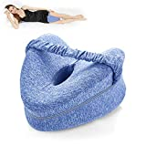 BEAUTRIP Leg Pillow | Ergonomic Side Sleeping Pillows | Memory Foam Knee Pillow with Strap for Side Sleeper | Leg Support Cushion with Removable and Washable Cover