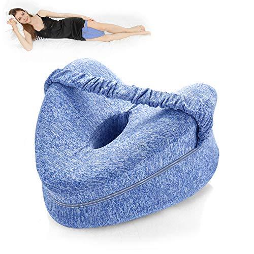 BEAUTRIP Kniekissen Knie-Kissen für Seitenschläfer, Ergonomisches Memory Foam Beinkissen,Sorgt für Druckentlastung - Hüfte, Bein, Knie, Rücken und Schwangerschaft