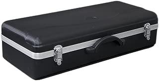 Lightweight ABS Case for Modern Standard Alto Saxophone, Black