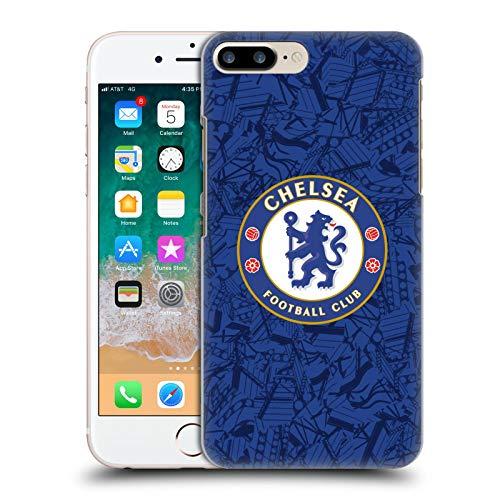 Head Case Designs Offizielle Chelsea Football Club Home 2019/20 Kit Harte Rueckseiten Handyhülle Hülle Huelle kompatibel mit Apple iPhone 7 Plus/iPhone 8 Plus