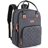 Baby Wickelrucksack Multifunktional Wickeltasche Rucksack Große Kapazität babytasche wickeltasche Reisetasche für Unterwegs Passform für Kinderwage Grau