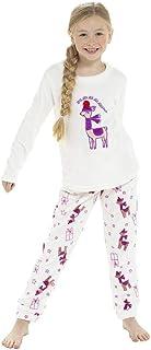 Conjunto de Pijama Twosie de Lana de Invierno para niñas con Varios diseños Edad 3-13 años