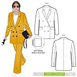 Style Arc Sewing Pattern - McKenzie Woven Blazer (Sizes 18-30) - Click for Other Sizes Available