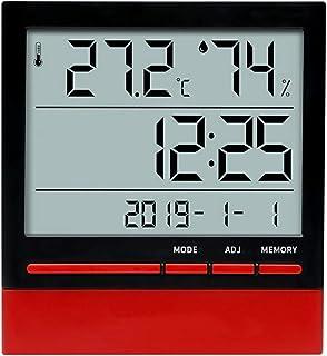 YIN YIN, higrómetro Temperatura, precisión hogar higrómetro electrónico de Temperatura ° conmutable C y ° F con el Calenda...