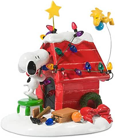 Check Out Peanuts Christmas VillageProducts On Amazon!