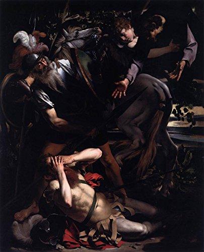 Gifts Delight Laminated 18x22 Poster Michelangelo Merisi da Caravaggio - The Conversion of St. Paul