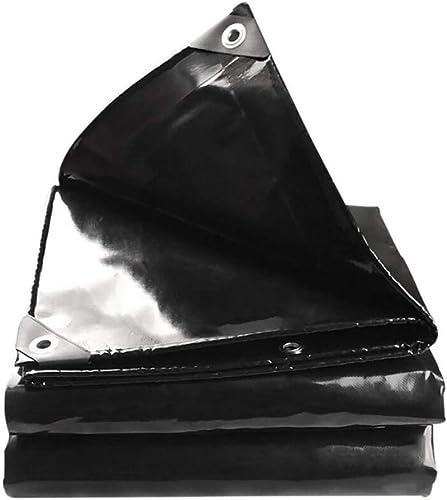 Sortie Udstyr, Bache en Plein Air, Toile Noire étanche à la Pluie Pour écran Pare-Pluie, Hangar 600G   M2, Kejing Miao, Noir, 3X5M