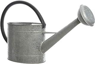 Decoris 83300 Regadera de Zinc, Solo Uso Decorativo, 5 litros, Gris
