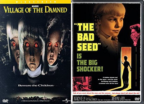Cult Horror Creepy Children Collection - Bad Seed & Village of the Damned 2-Movie Bundle